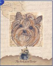 DMC Dog Cross Stitch Kit BK535 Yorkshire Terrier