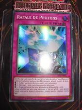 YU-GI-OH! SUPER RARE RAFALE DE PROTONS LED2-FR017 FRANCAIS EDITION 1 NEUF MINT