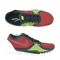 Mens Nike Free Trainer 3.0 V4 Training Shoes Men Size 10.5 Black Red 749361 066