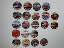 Tazos Pogs Imperial Slammer Whammers Machine Age  Exotics Milkcaps *incomplete*