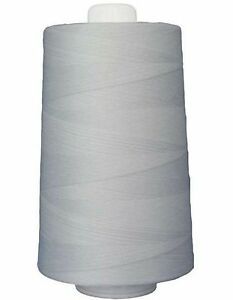 Superior Omni 40 wt Polyester Thread #3001 Bright White 6000 yard cone