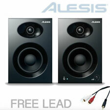 ALESIS ELEVATE 3 MKII Active Desktop Studio Monitor Speakers PAIR + Leads