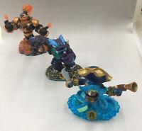 Skylanders Swap Force Lot Of 3 Wash Buckler, Trap Shadow, Blast Zone