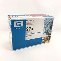 Genuine Original HP 27X High Yield Black LaserJet Toner Cartridge C4127X fr 4000