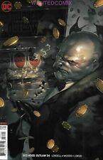 RED HOOD OUTLAW #34 YASMIN PUTRI VARIANT COVER JASON TODD DC COMIC BOOK NEW 1