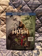 Batman Hush Bluray/DVD/Digital
