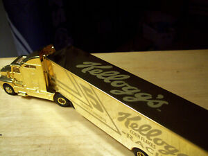 TERRY LABONTE 24K GOLD HAULER and CAR 1998 KELLOGG'S 1/64 SCALE 1 of 1500
