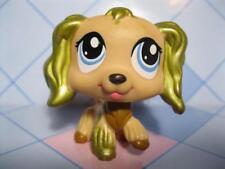 Littlest Pet Shop COCKER SPANIEL GOLD EARS RARE 94481