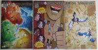 3 IDW Comics Ghostbusters No. 4 & 6 CVRA, No. 4 CVR Sub 2013-2015