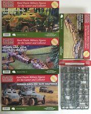 Plastic Soldier Company 1/72nd 20mm Alemán Infantería y vehículos. Segunda Guerra Mundial