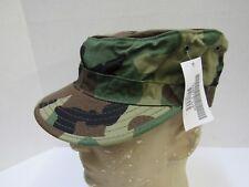 New Us Military Woodland Camo Camouflage Usgi Patrol Cap Hat Cover 7 1/4 Propper