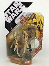 Star Wars Battle Droids 30th Anniversary Saga Legends Figure Hasbro 2007