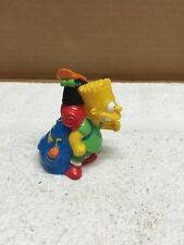 Bart Simpson Going Camping Figurine