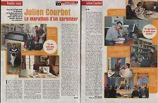 Coupure de presse Clipping 2003 Julien Courbet  (2 pages)