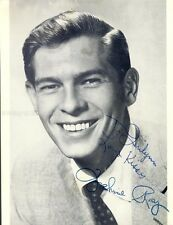 JOHNNIE RAY - INSCRIBED PHOTOGRAPH SIGNED