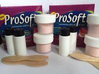 4 APPLICATIONS!  ProSoft Denture Reliner Kit. 2 Boxes Liner for Loose Dentures!