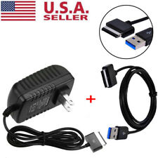 AC Wall Charger + USB Data Sync Cable For Asus Eee Pad TransFormer TF101 TF201