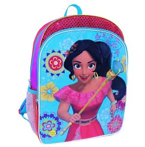 """ELENA of AVALOR 16"""" Full-Size Light-Up Backpack w/ Optional Insulated Lunch Box"""