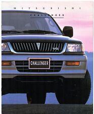 Mitsubishi Challenger 3.0 V6 24v 1998 Australian Market Sales Brochure