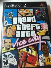 Grand Theft Auto Vice City GTA Playstation 2 PS2 COMPLETE With Map