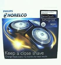 Philips Norelco RQ11/52 SensoTouch Dual Precision Heads New Sealed Unit !