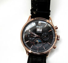 "New Gent's Ingersoll ""Byron"" Automática Reloj Calendario (IN1404RBK) Lt Ed"