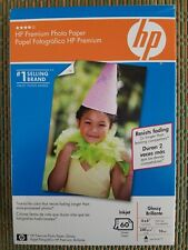 HP Premium Photo Paper 60 Sheets For Inkjet / Glossy