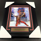 SHAWN MICHAELS HBK WWE WWF FRAMED 8x10 PHOTO AUTOGRAPHED WRESTLEMANIA