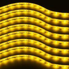 Zento Deals 8X of Trimmable 30cm Yellow LED Car Flexible Waterproof Light Strips