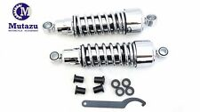 Mutazu Lower Shocks Suspension for Harley Sportster 883 1200 forty eight 10.5""