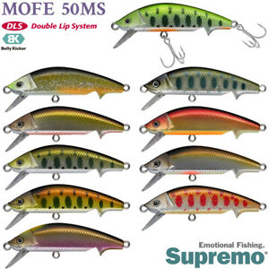Supremo Mofe 50MS 6 g, 50 mm  various colors Native trout sinking minnow