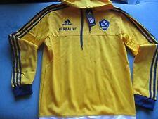 BNWT Adidas L.A. Galaxy Hoody Sweater Size M