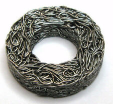 """Vibration Damping Washer, Stainless Steel Wire Mesh, 1/4"""" ID, (Qty 4)"""