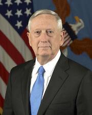 JAMES MATTIS OFFICIAL PORTRAIT 26TH U.S. SECRETARY OF DEFENSE 8X10 PHOTO