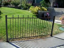 Beautiful Iron Fencing New Made To Order 4 Foot High Easy To Assemble