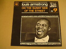JAZZ LP / LOUIS ARMSTRONG - ON THE SUNNY SIDE OF THE STREET