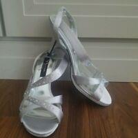 Nina Benicia YS Shoes Women's Size 7M Silver
