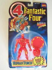 """1995--FANTASTIC FOUR """"Human Torch"""" (Action Figure) [NIP] by Toy Biz"""
