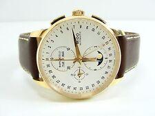 Mido barone Celli m8607b Automatic cronografo fase lunare Moonphase Watch Orologio