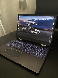 """HP ENVY X360 15.6"""" 2X1 LAPTOP - AMD A9 - 8GB RAM - ( 1TB HDD+256GB SSD )"""
