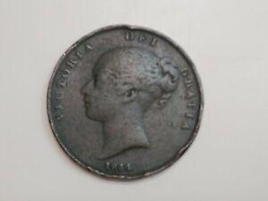 1854 Great Britain Penny Queen Victoria