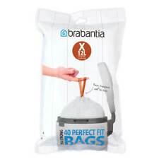 More details for brabantia perfectfit bags size x 10-12 litre 40 bag dispenser pack