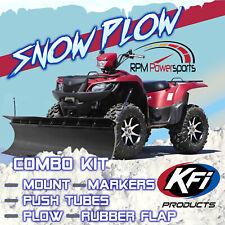 "KFI Pro Series 60/"" Rubber Top Snow Flap Guard Kit 105144 NEW"