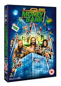 WWE MONEY IN THE BANK 2020 DVD NEW