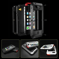 Heavy Duty Armor Shockproof Waterproof Aluminum Metal Case Cover For iPhone 6 6S