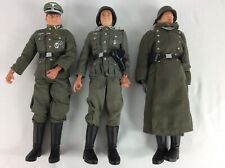 Lot Of 3 Dragon 1/6 WWII German Soldiers Military Action Figure Collectibles
