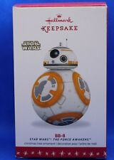 2016 Hallmark Keepsake Star Wars The Force Awakens BB-8 Ornament ~ NIB (2020)