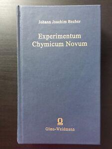 J. J. Becher, Experimentum chymicum novum (2002), Facsimile Reprint