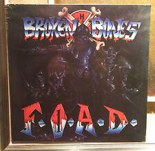 Broken Bones – F.O.A.D. Lp Re 2015 Sealed Radiation RRS46