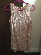 Alice and Olivia Sequin shift dress size 6
